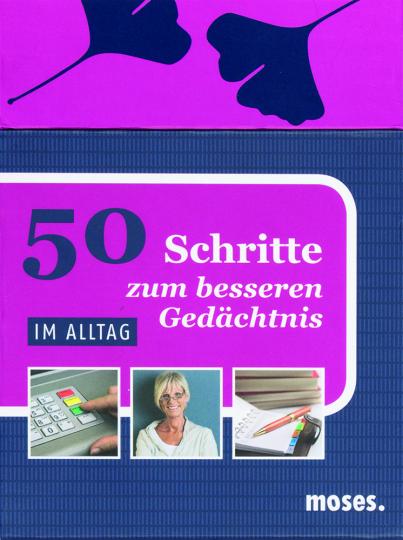 50 Schritte zum besseren Gedächtnis - im Alltag.