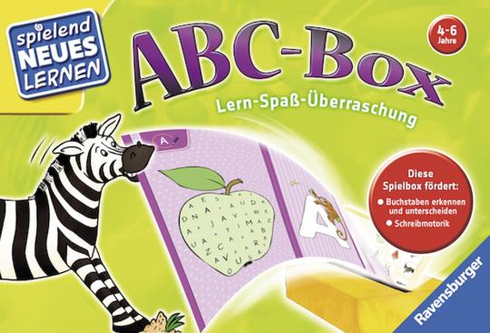 ABC-Box. Lern-Spaß-Überraschung.