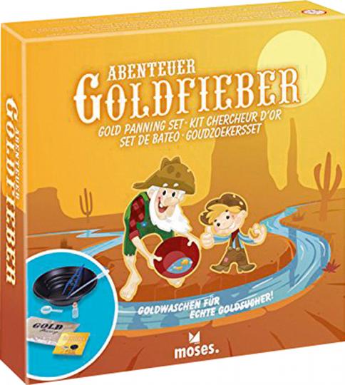 Abenteuer Goldfieber.