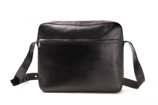 Aktentasche zum Umhängen »Cinturon«, schwarz.