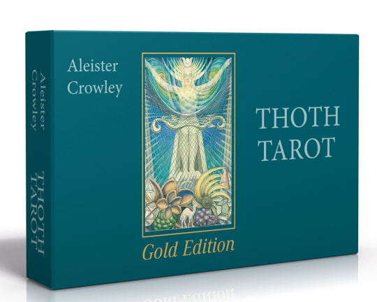 Aleister Crowley Thoth Tarot. Gold Edition.