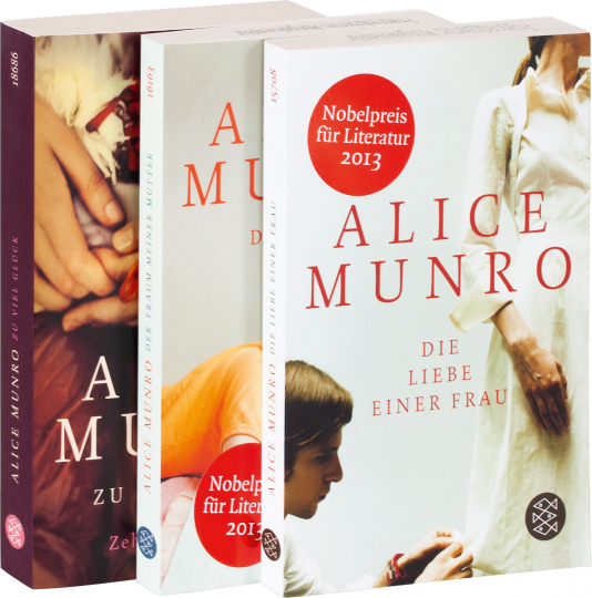 Alice Munro. 3 Bände im Set.