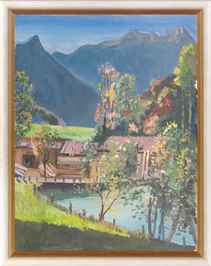 Am Samerberg. Günter Dietz (1919-1995).
