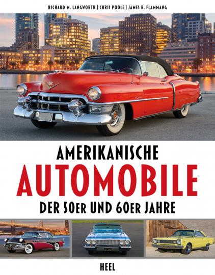 Amerikanische Automobile der 50er und 60er Jahre.
