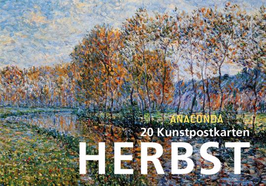 Anaconda Postkartenbuch Herbst. 20 Kunstpostkarten.