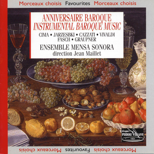 Anniversaire Baroque. Instrumental Baroque Music. CD.