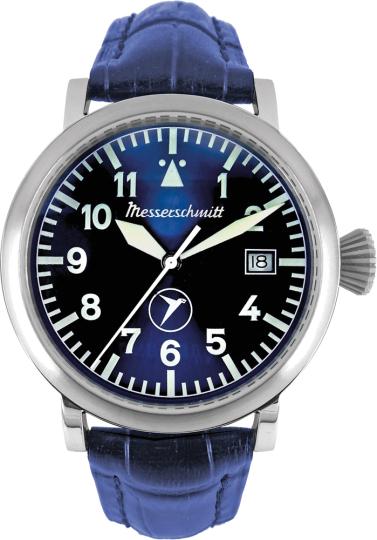 Armbanduhr blau Aristo Vollmer.