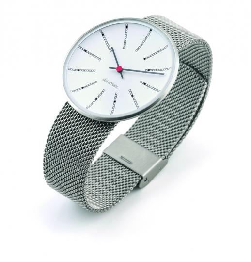 Armbanduhr für Herren »Bankers«, silberfarben.