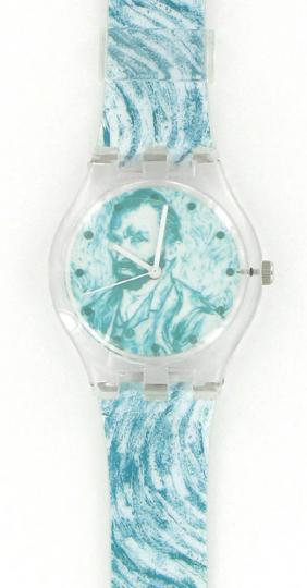 Armbanduhr nach van Goghs »Selbstportrait«.
