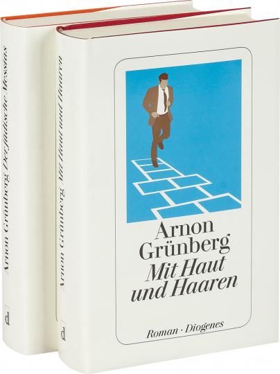 Arnon Grünberg. Mit Haut und Haaren. Der jüdische Messias. 2 Bände im Paket.