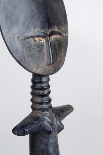 Ashanti Akua-ba Figur. Museumsreplik.