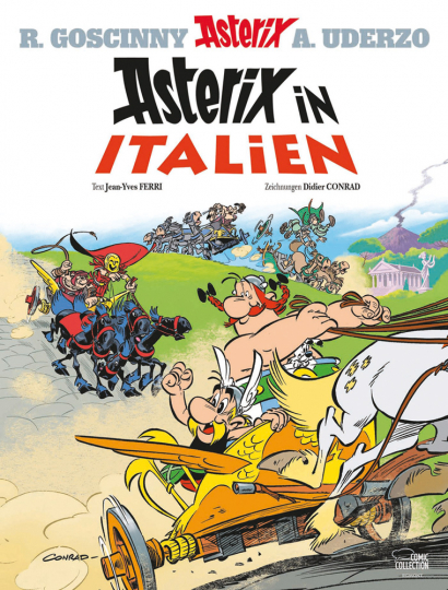 Asterix in Italien. Band 37. Luxusedition.
