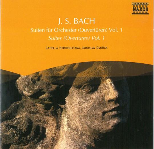 Bach. Orchestersuiten. CD.