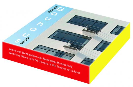 Bauhaus-Ikonen. Bauhaus Icons. Memo mit 36 Klassikern der berühmten Kunstschule.