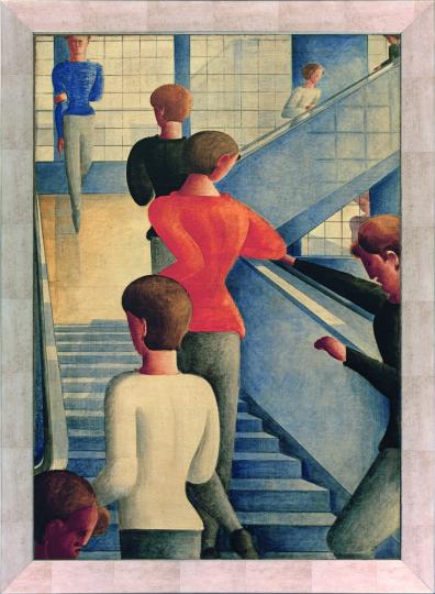 Bauhaustreppe. Oskar Schlemmer (1888-1943).
