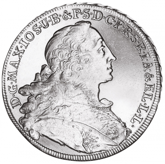 Bayern Madonnentaler 1760-1777 Maximilian III. Joseph.