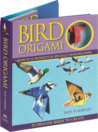 Bird Origami. Buch mit 100 Blatt Spezialpapier.