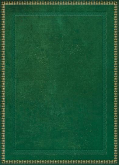 Blank Book grün, klein, liniert.