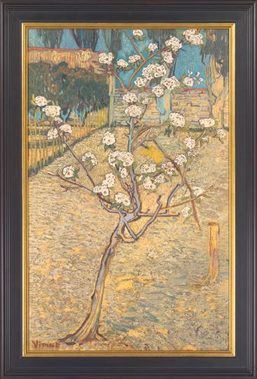 Blühender Birnbaum. Vincent van Gogh (1853-1890).