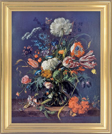 Blumenvase. Jan Davidsz de Heem (1606-1683).