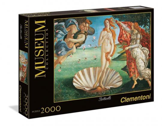 Botticelli. Geburt der Venus. Puzzle in 2000 Teilen.