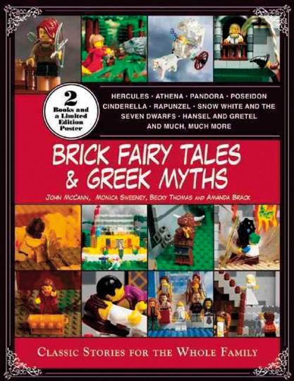 Brick Fairy Tales and Greek Myths. Märchen und Mythen aus Bausteinen. Klassische Geschichten für die ganze Familie. Zwei Bände in der Box.