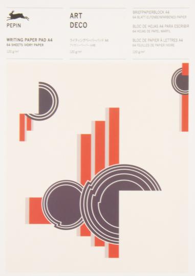 Briefpapierblock »Art Deco«. DIN A4.