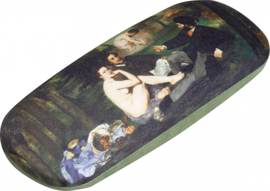 Brillenetui Edouard Manet »Frühstück im Grünen«.