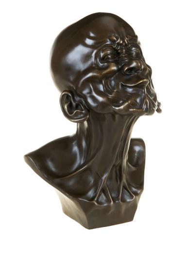 Bronzebüste Franz Xaver Messerschmidt »Der Schnabelkopf«.