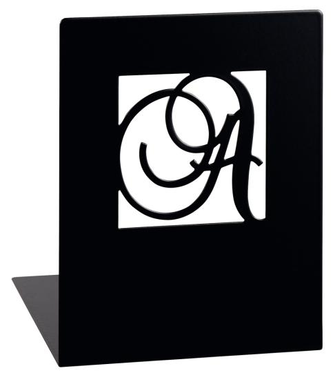 Buchstützen »A und Z«.