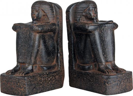 Buchstützen »Schreiber« aus Ägypten, 1295-1069 v. Chr. Museumsreplik.