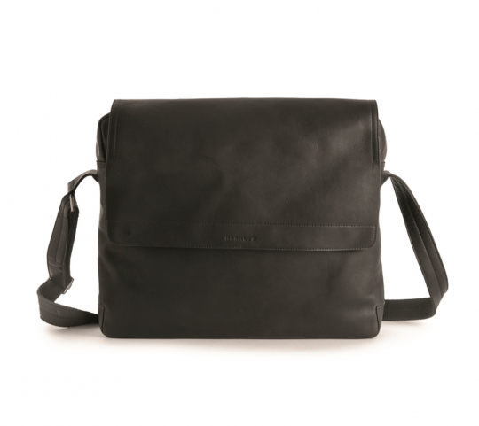 Businesstasche mit Notebookfach »Campo Rivet«, schwarz.