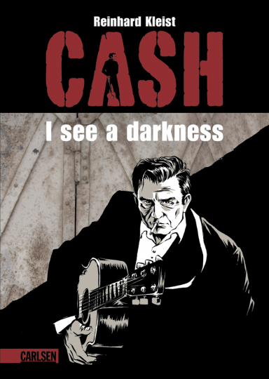 Cash. I see a darkness. Graphic Novel.