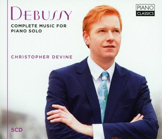 Claude Debussy. Sämtliche Klavierwerke. 5 CDs.