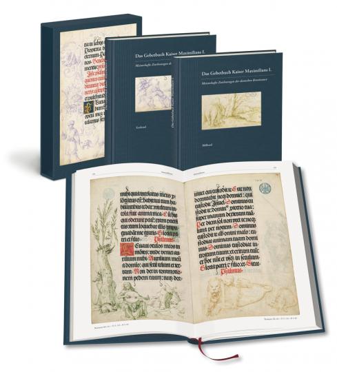 Das Gebetbuch Kaiser Maximilians I. Meisterhafte Zeichnungen der deutschen Renaissance. 2 Bände.