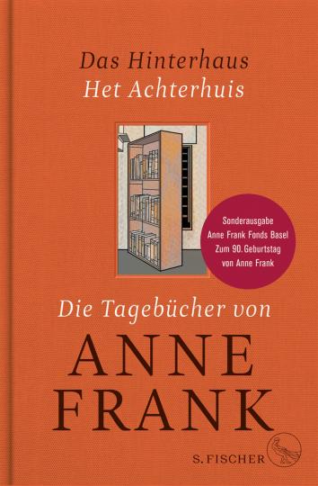 Das Hinterhaus. Het Achterhuis. Die Tagebücher von Anne Frank.