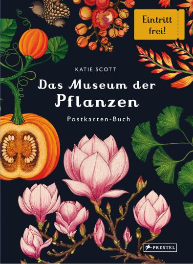 Das Museum der Pflanzen. Postkartenbuch.