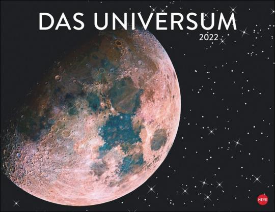 Das Universum Posterkalender 2022.