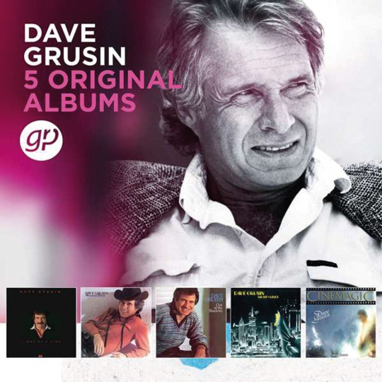 Dave Grusin. 5 Original Albums. 5 CDs.