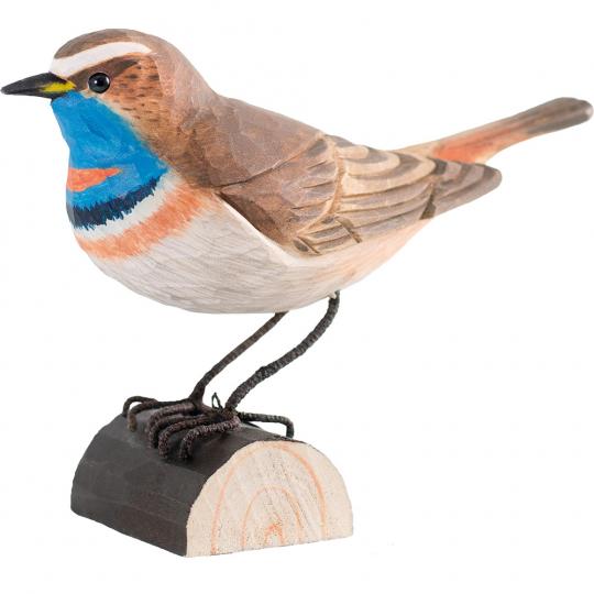 Deko Vogel Blaukehlchen.