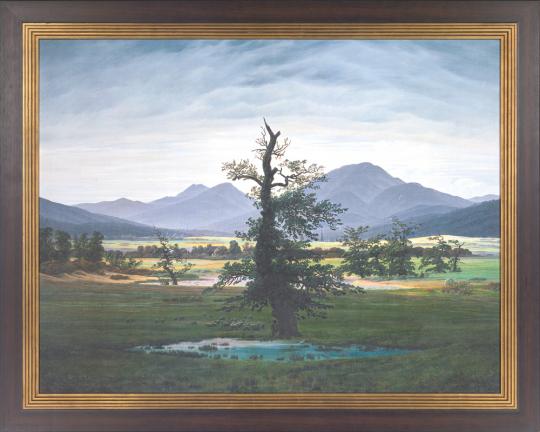 Der einsame Baum. Caspar David Friedrich (1774 - 1840).