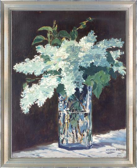 Der Fliederstrauß. Edouard Manet (1832-1883).