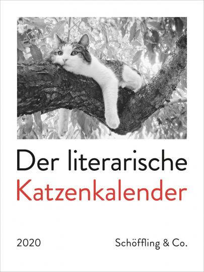 Der literarische Katzenkalender 2020.