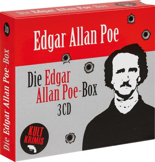 Die große Edgar Allan Poe-Box. 3 CDs.