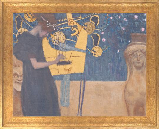 Die Musik. Gustav Klimt (1862-1918).