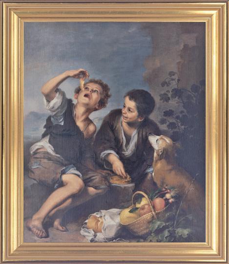 Die Pastetenesser. Bartolomé Murillo (1618-1682).