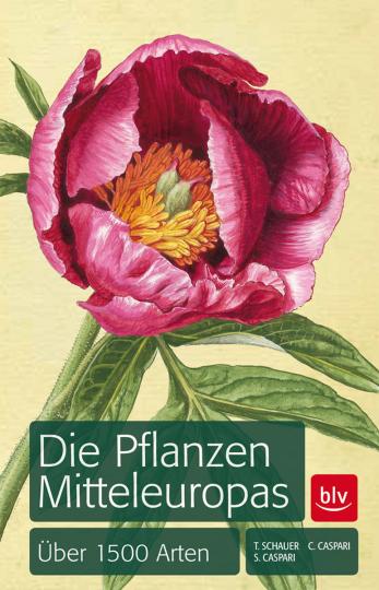 Die Pflanzen Mitteleuropas. Über 1500 Arten.