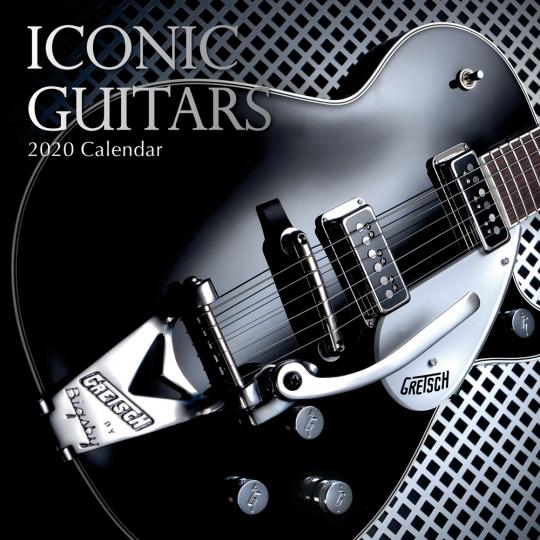 Die schönsten Gitarren. Wandkalender 2020.