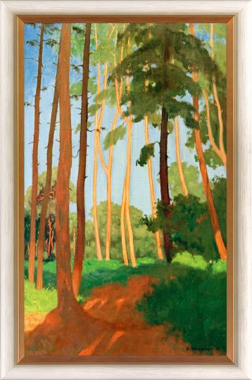 Die Waldlichtung. Felix Vallotton (1865-1925).