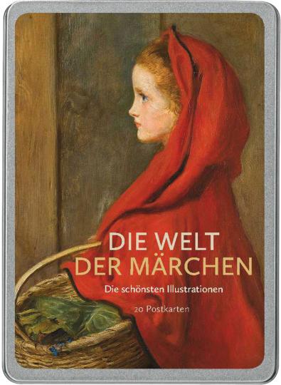 Die Welt der Märchen. Die schönsten Illustrationen. Postkarten-Set.